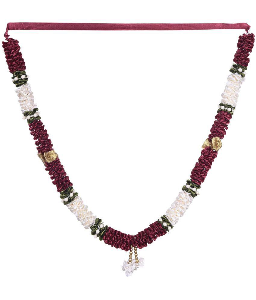 Decoration Craft Fabric Pooja Mala