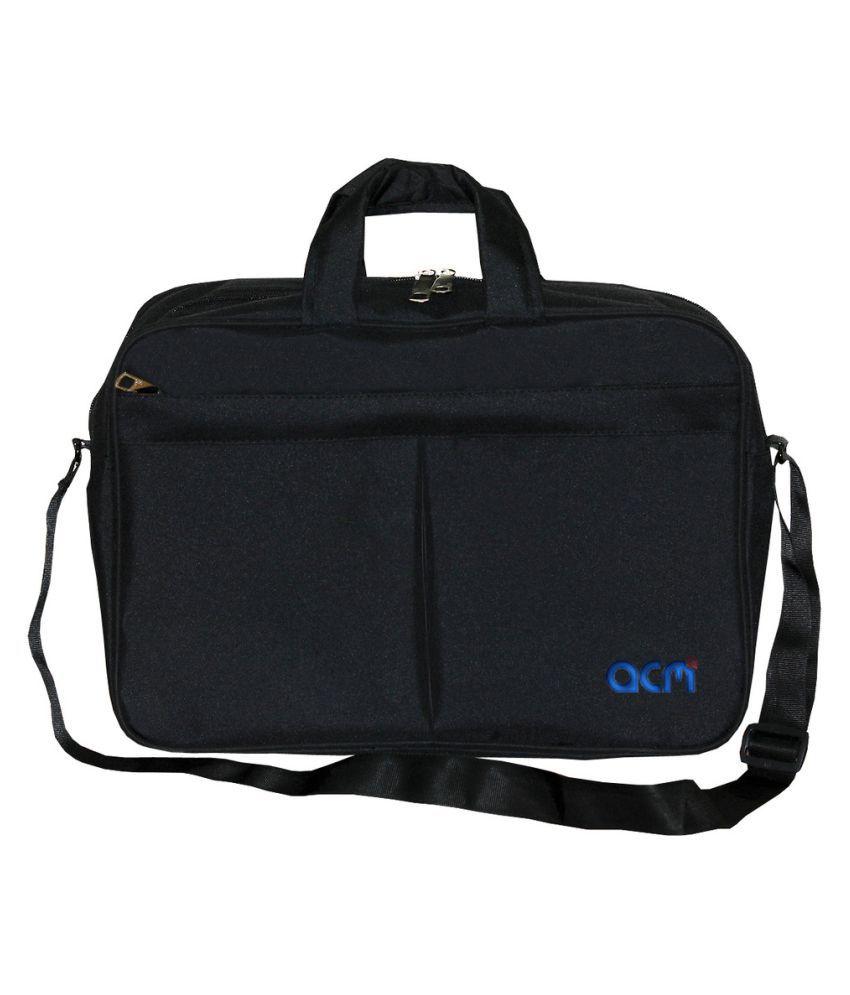 "ACM Hp X360 13.3"" Black Polyester Office Bag"