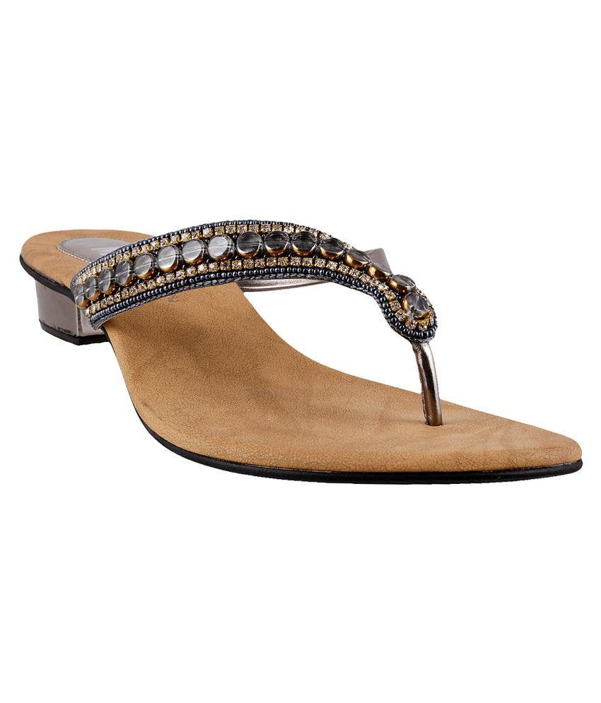 MSL Gray Block Heels