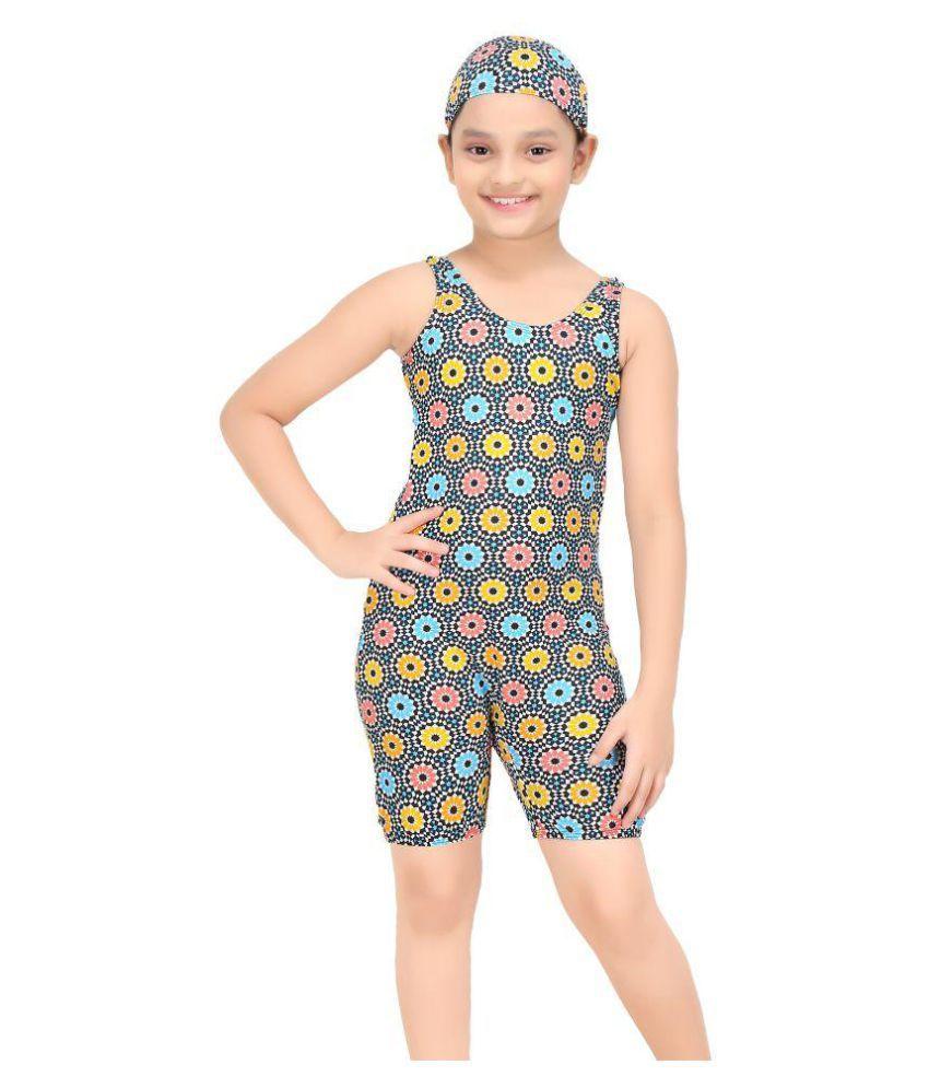 Fashion Fever Multicolor Swim Suit