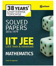 38 Years' Chapterwise Topicwise Solved Papers (2015-1979) IIT JEE Mathematics