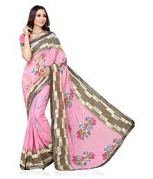 Beauty N Woman Pink Silk Saree