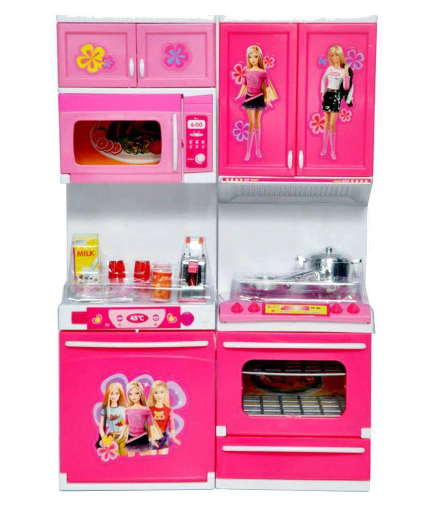 Parteet Multicolor Plastic Modern Kitchen Set For Girl Buy Parteet