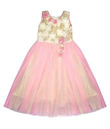 Arshia Fashions Multicolour Girls Party Gown