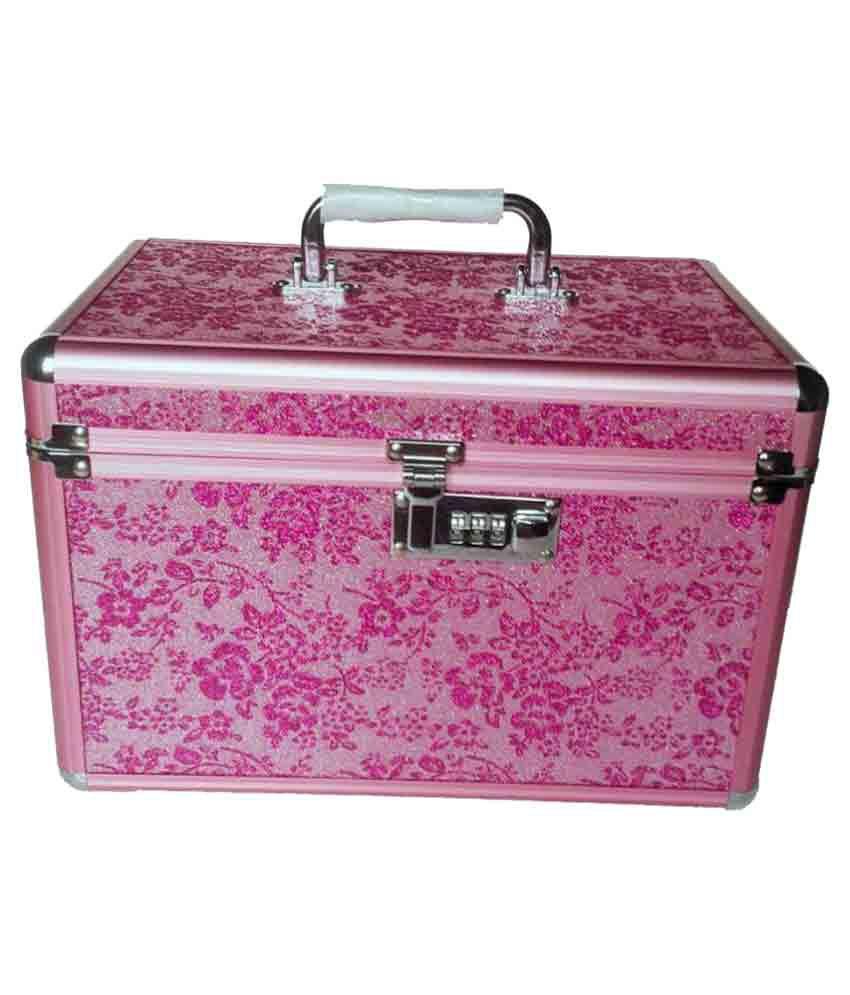 Pride Pink Aluminium Jewellery Box