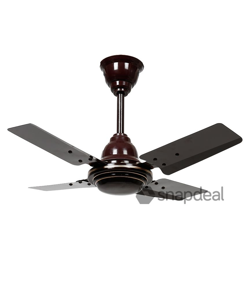 Sameer 24 Gati High Speed CeilingFan Brown
