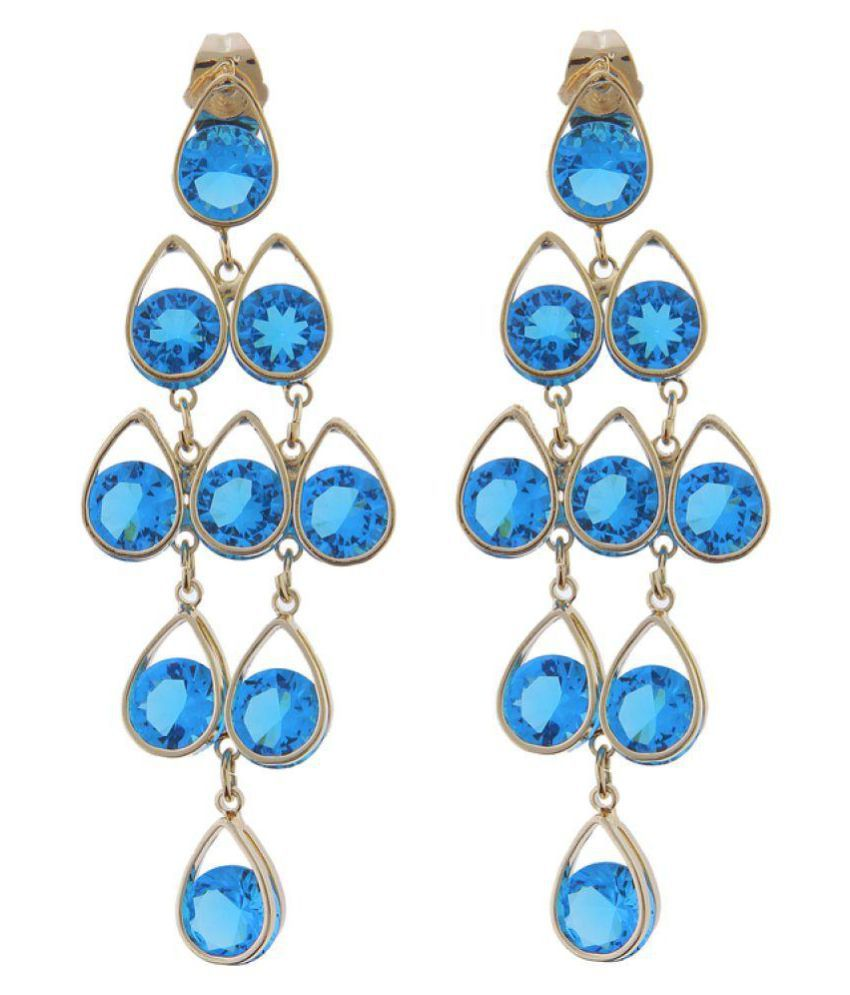 68e6d20d4 Avni Fashion Blue Earrings - Buy Avni Fashion Blue Earrings Online at Best  Prices in India on Snapdeal