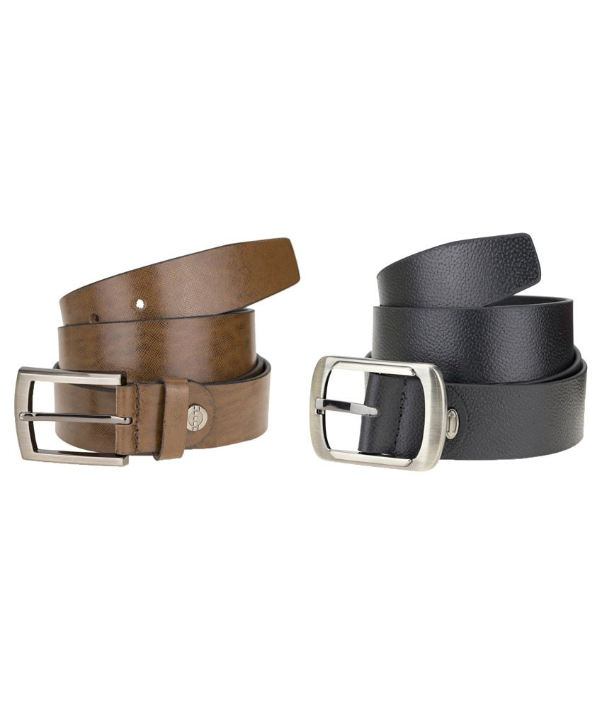 Genious Multi Leather Formal Belts