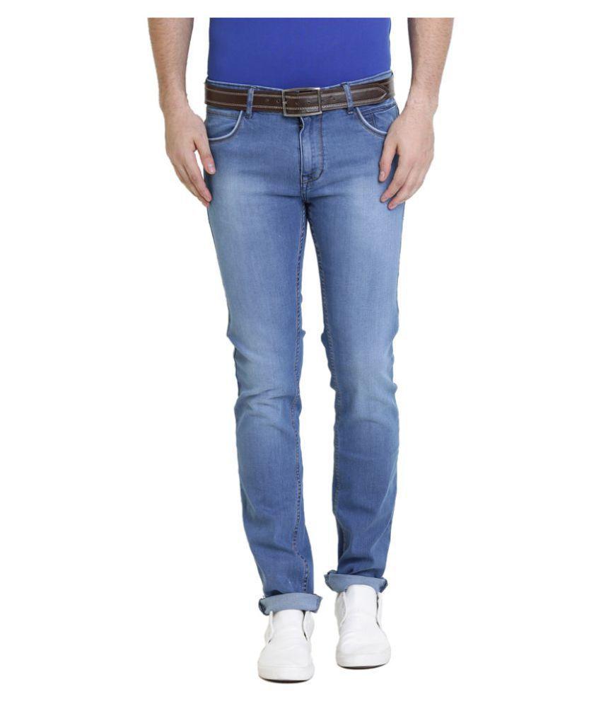 Police Blue Slim Jeans