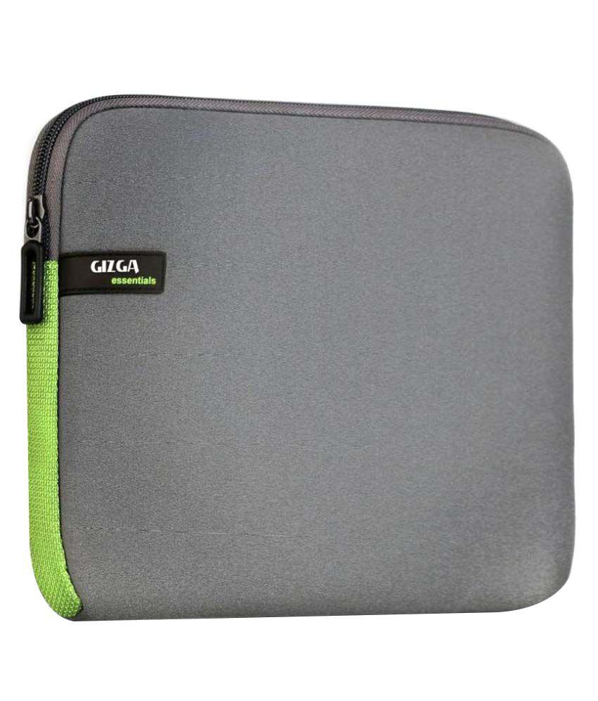Gizga Essentials Black Laptop Sleeves