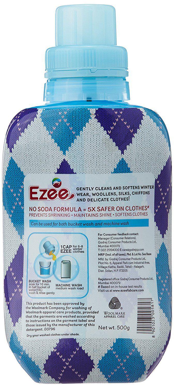 Ezee Detergent Liquid 500 Gram Buy Sleek Baby Laundry 450ml