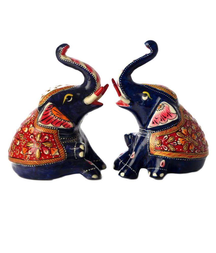 Marwadi Dhani Multicolour Alloy Imitation Antiques 14