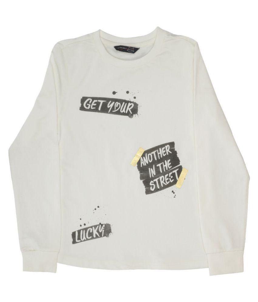 Indirang White Sweatshirt