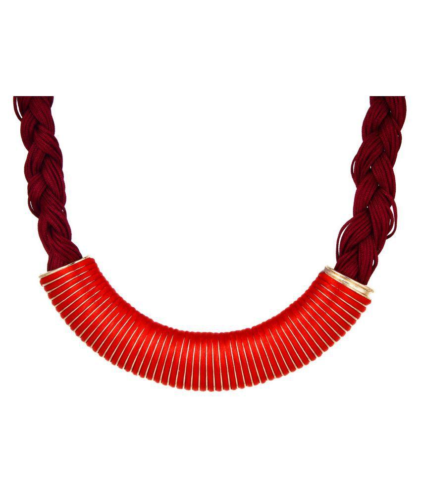 YouBella Multicolor Alloy Necklace