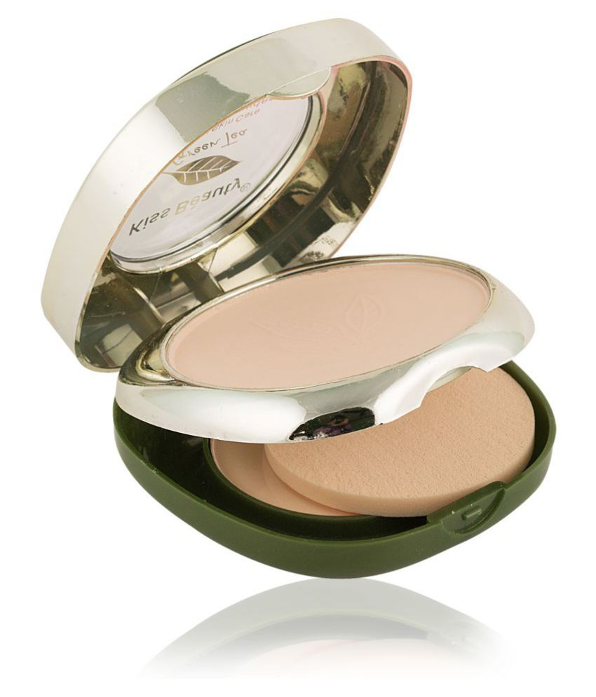 Kiss Beauty Pressed Powder 2in1 whitening compact powder 10 gm
