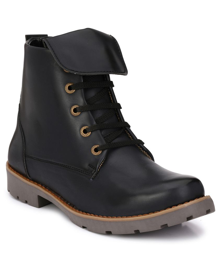 Fentacia Black Casual Boot