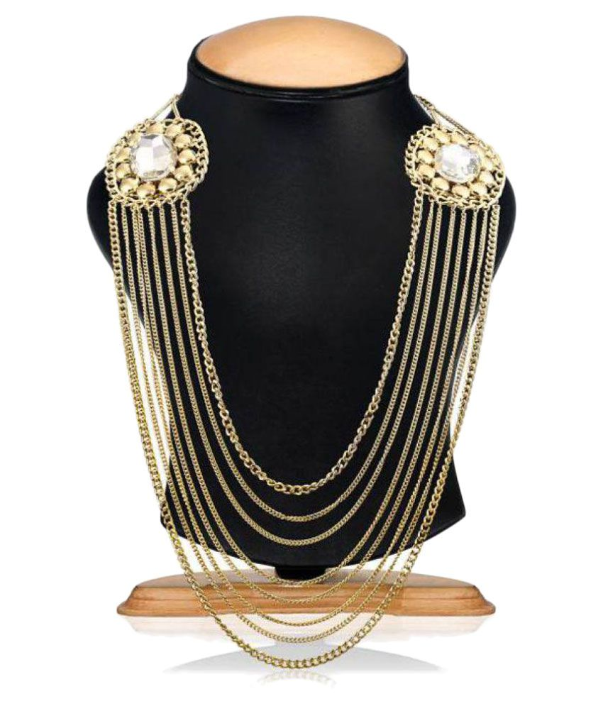 Shilpi Handicrafts Golden Necklace