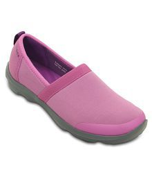 Crocs Purple Casual Shoes Standard Fit
