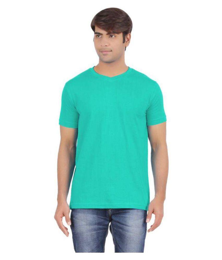 6P6 Green Round T-Shirt