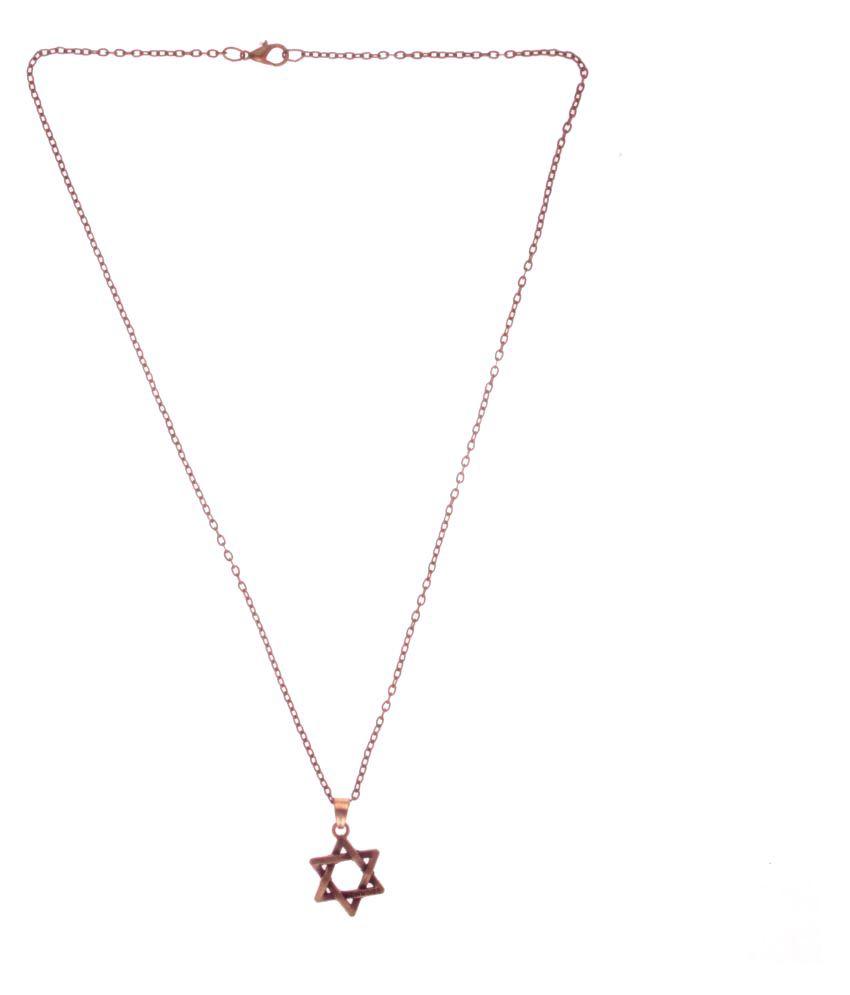 Ally Designs trendy new noibe star premium antique metal pendant ...