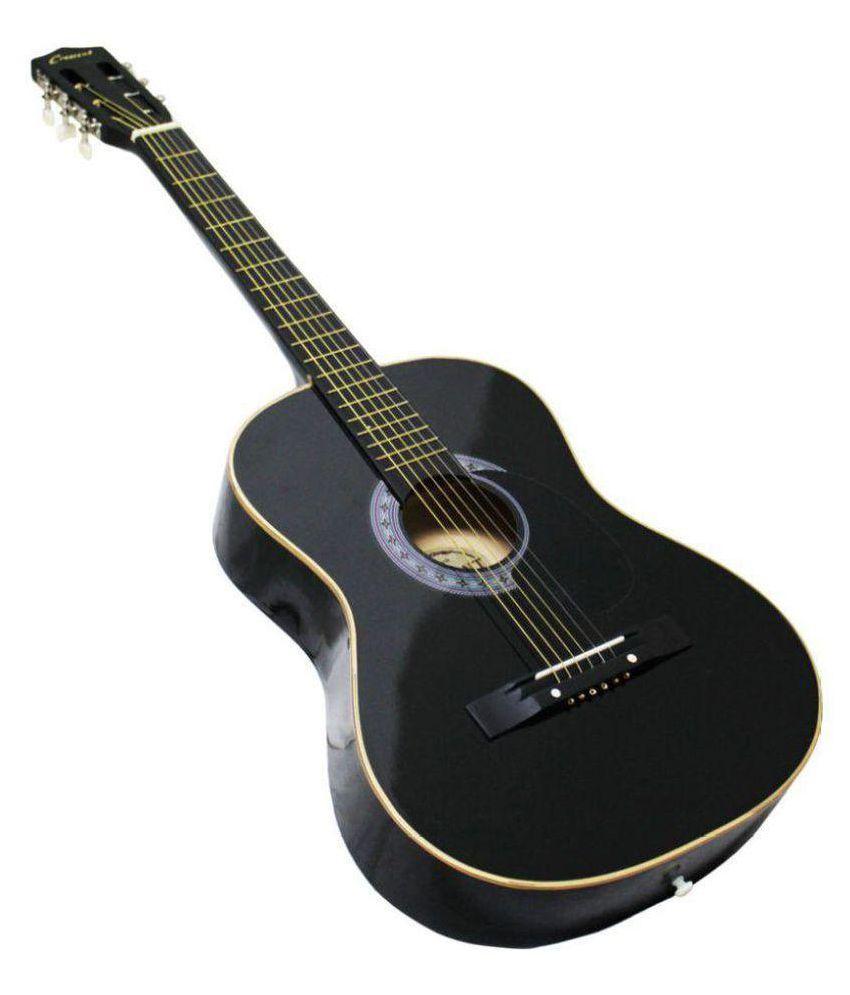 sonido sbbj01 black acoustic guitar buy sonido sbbj01 black acoustic guitar online at best. Black Bedroom Furniture Sets. Home Design Ideas