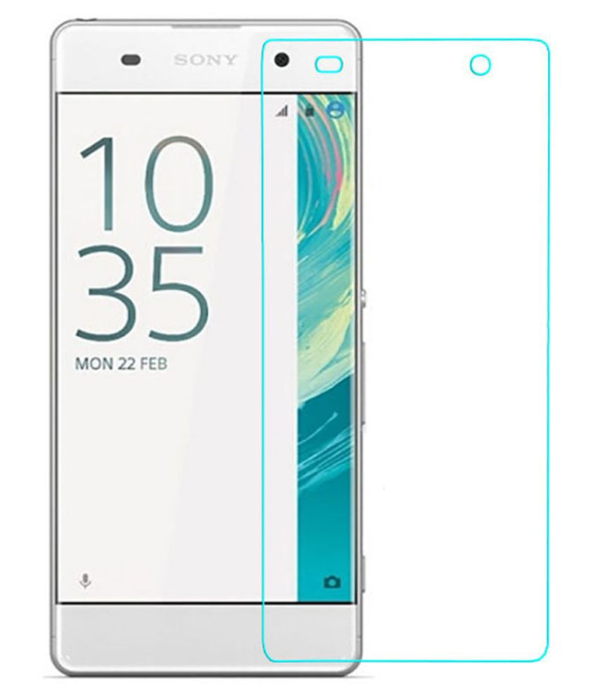 Sony Xperia XA Tempered Glass Screen Guard By Glasscandy