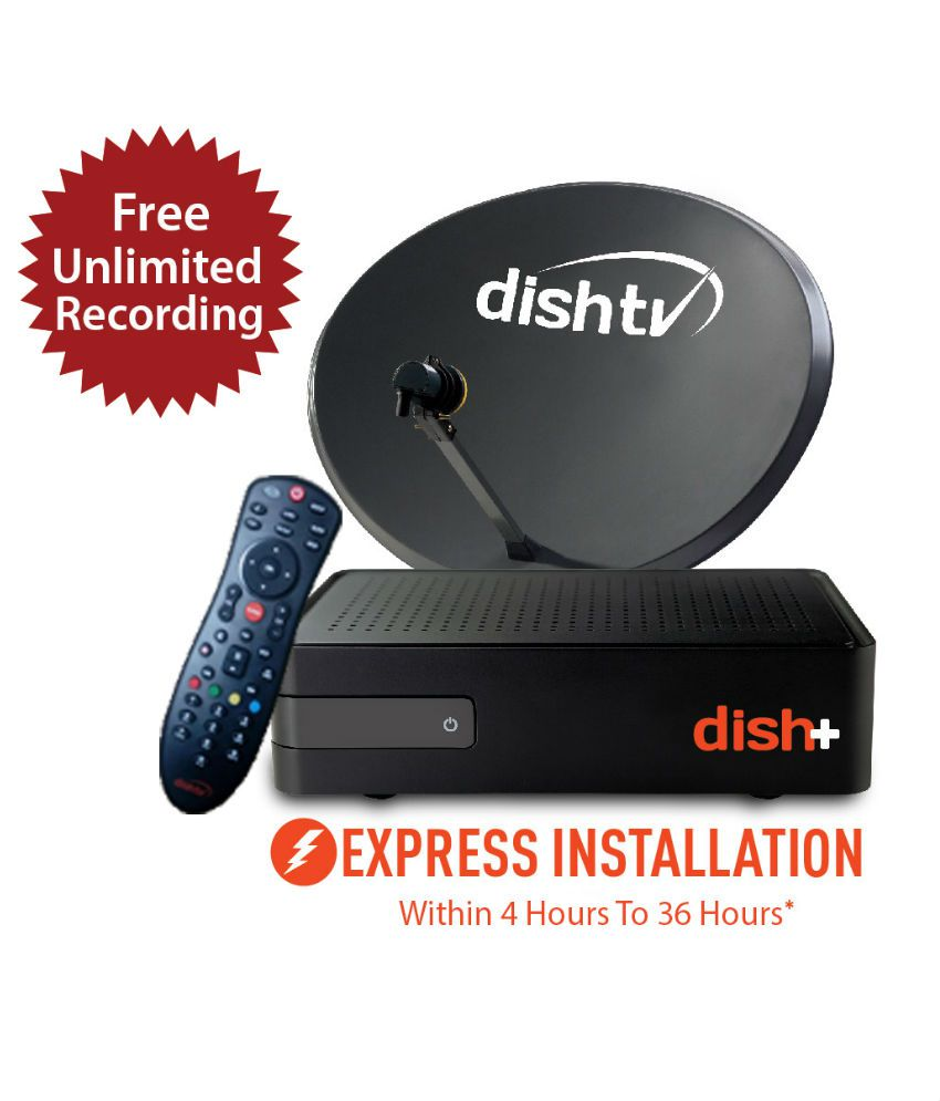 Dish TV SD+ Titanium Full On 1 month Subscription Free By Snapdeal @ Rs.1,079