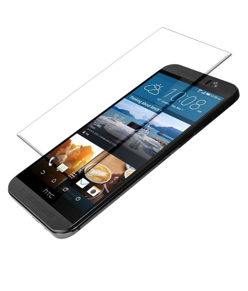 HTC One M9 Tempered Glass Screen Guard By Crook
