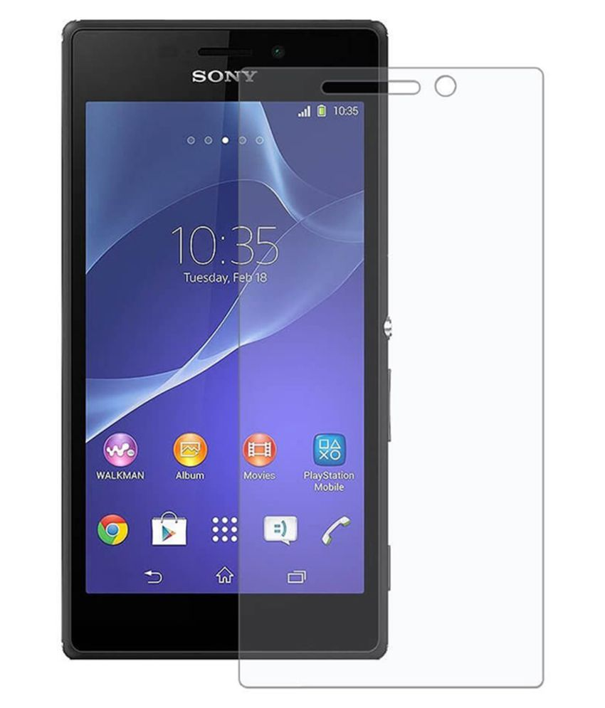 Sony Xperia M Tempered Glass Screen Guard By Crook