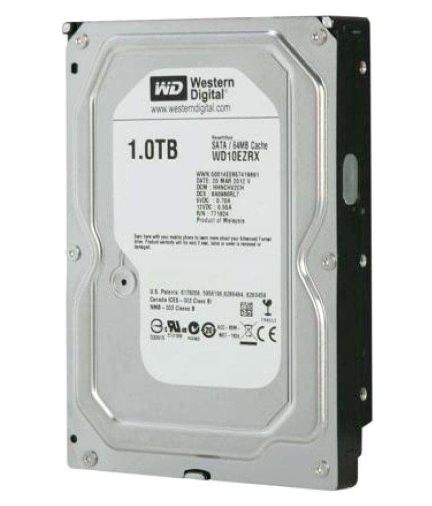 WD WD10EZEX 1 TB Internal Hard Drive Internal Hard drive