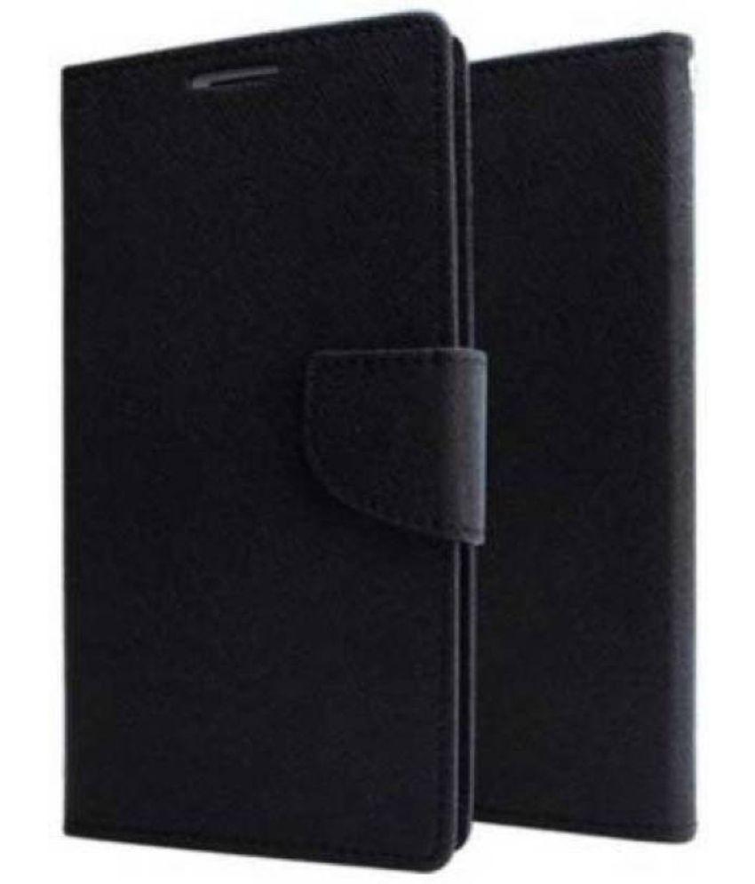 Lenovo K4 Note Flip Cover by Sneha - Black