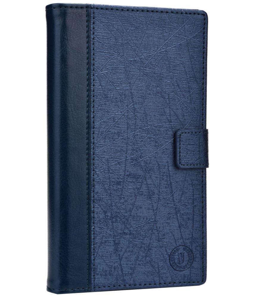 Asus Zenfone Max Flip Cover by Jojo - Blue
