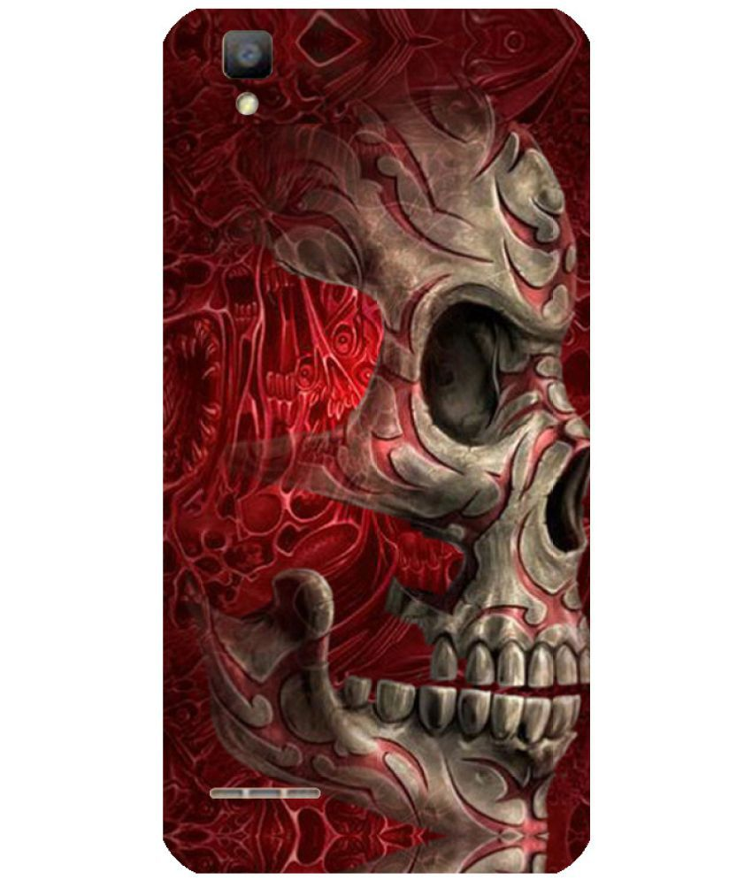 Oppo F1 Printed Cover By Skintice