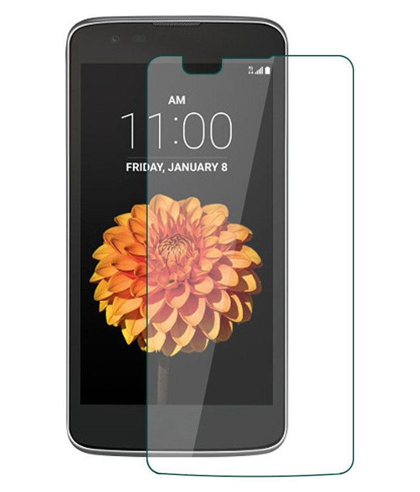 LG K7 Tempered Glass Screen Guard By Tempered glass hd