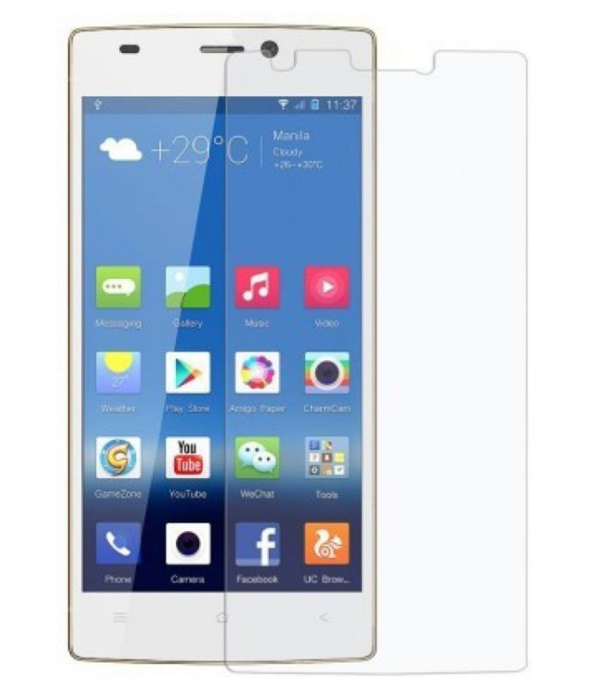 Gionee Pioneer P6 Tempered Glass Screen Guard By Tempered glass hd