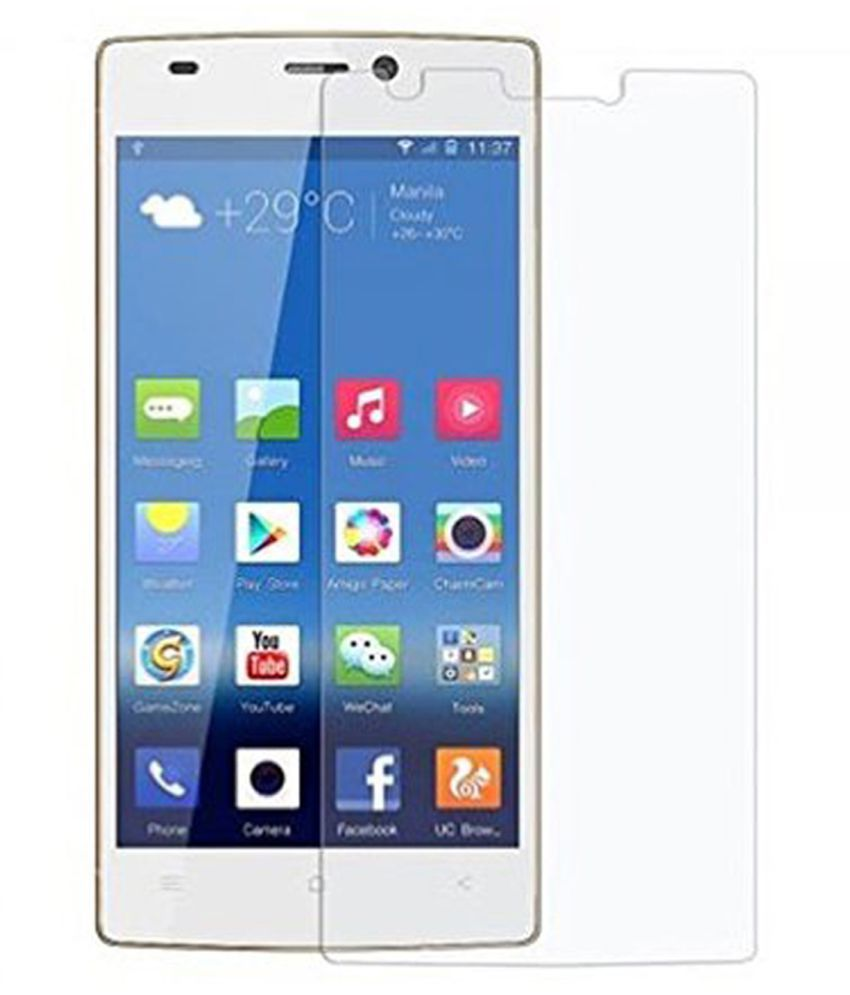 Gionee M2 Tempered Glass Screen Guard By Tempered glass hd