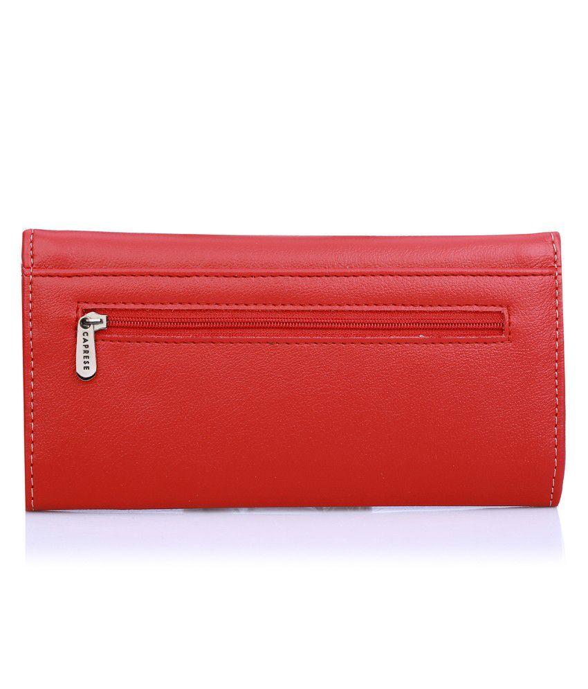 Caprese Maroon Wallet
