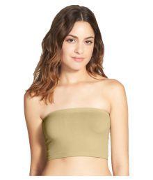 Bahucharaji Creation Green Cotton Lycra T-Shirt/ Seamless Bra