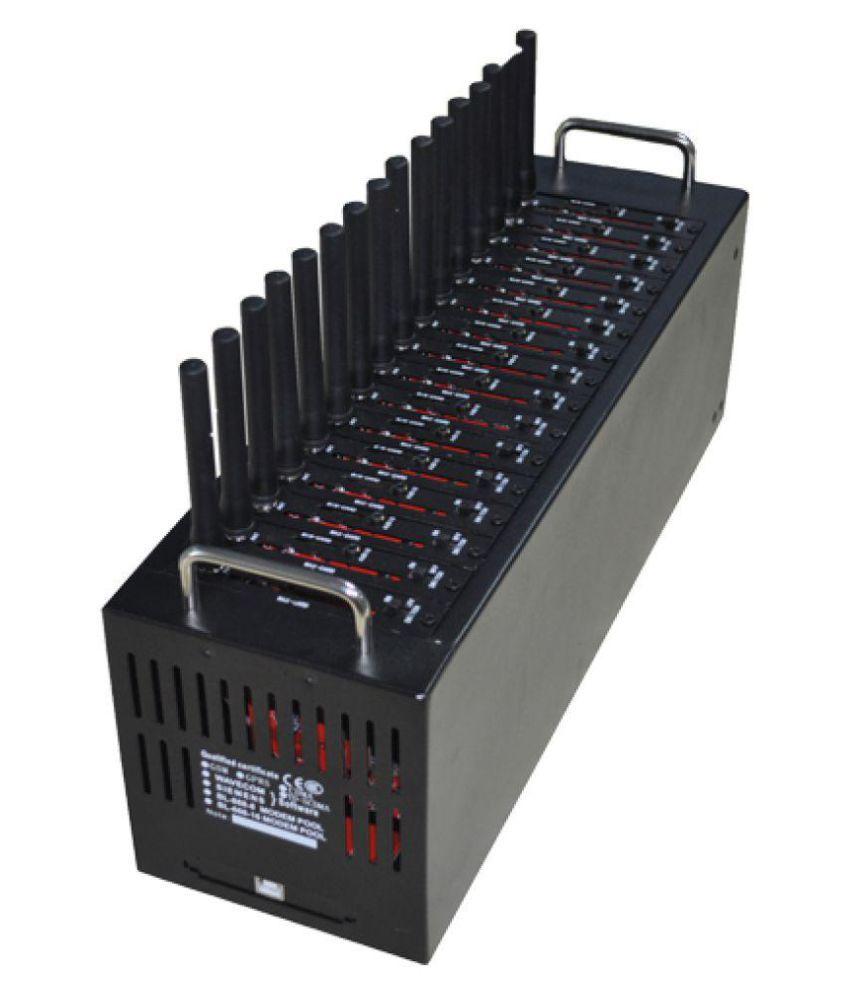 Lintratek Siemens 16 Port Modem Wireless Multi Recharge Modem