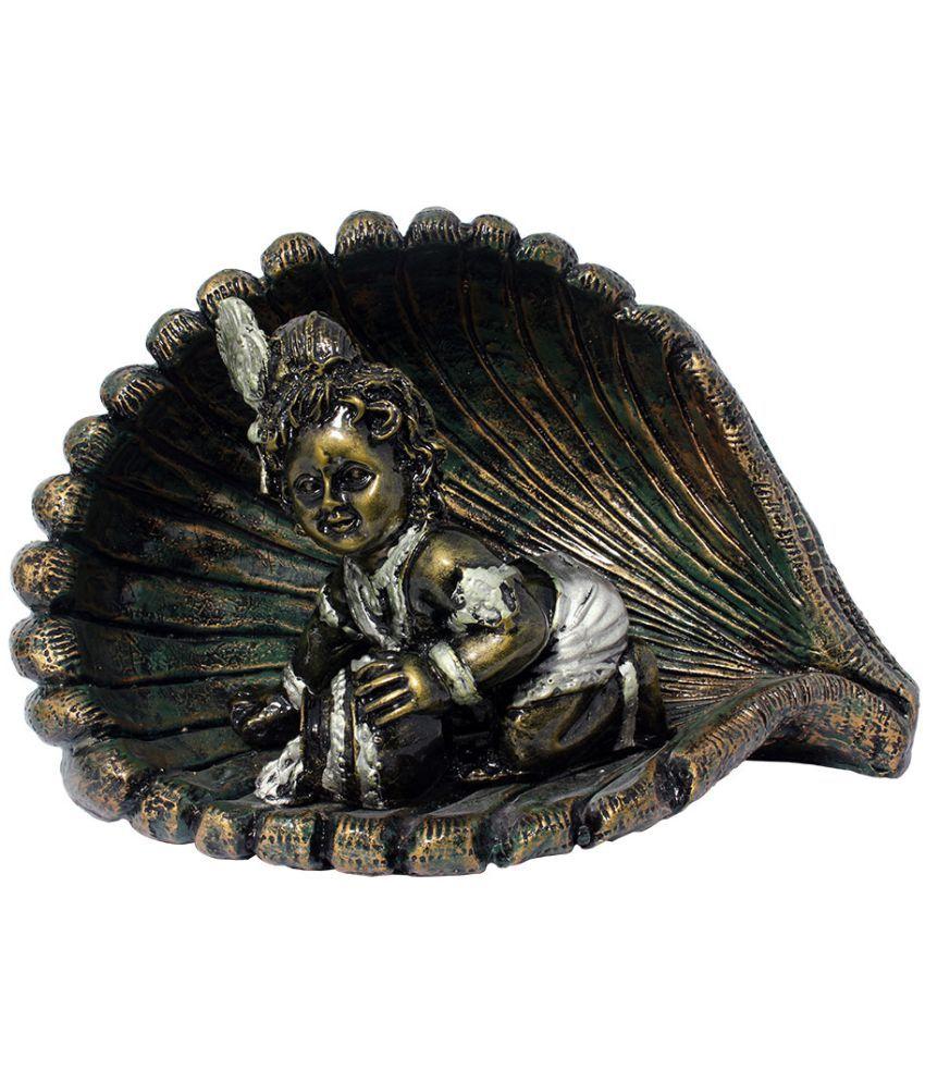 Art N Hub Krishna Earthenware Idol
