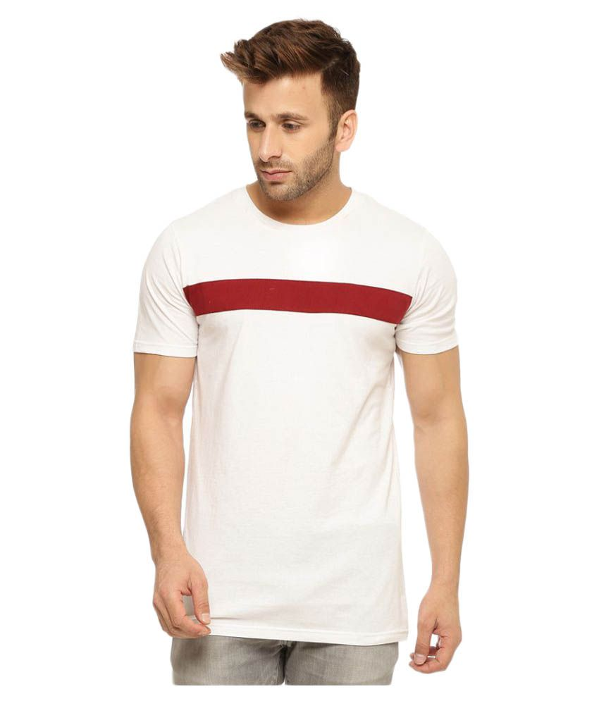 Gritstones Off-White Round T-Shirt