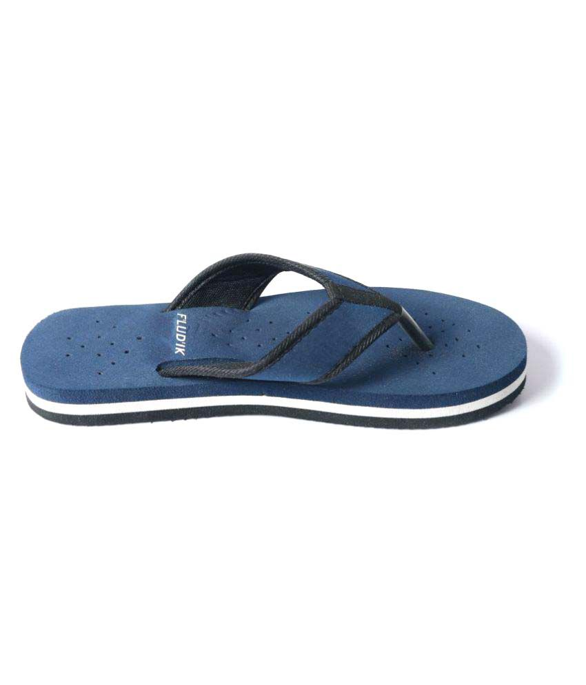Fludik Blue Slippers