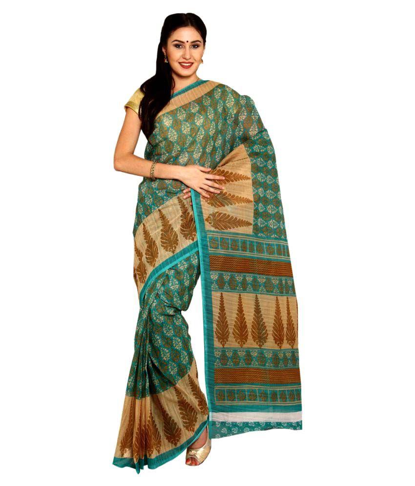 Rangkari Multicoloured Mangalgiri Cotton Saree