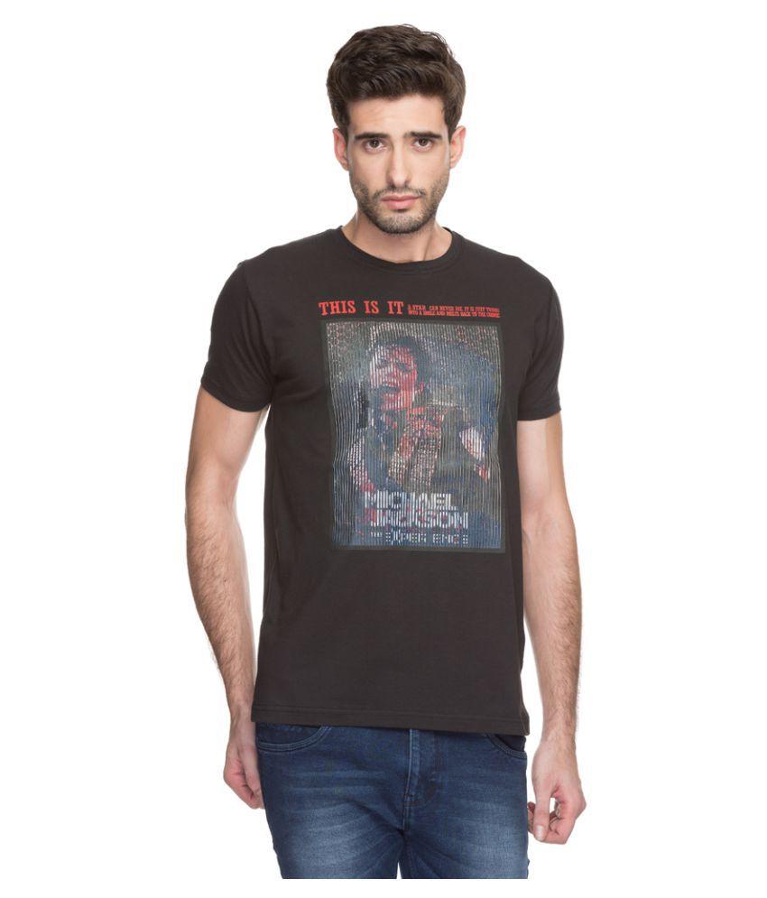 Status Quo Black Round T-Shirt