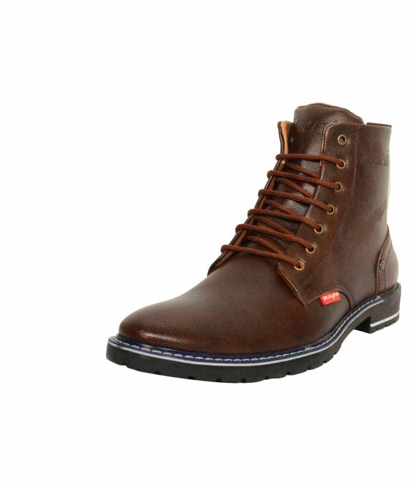 Indian Style Brown Party Boot