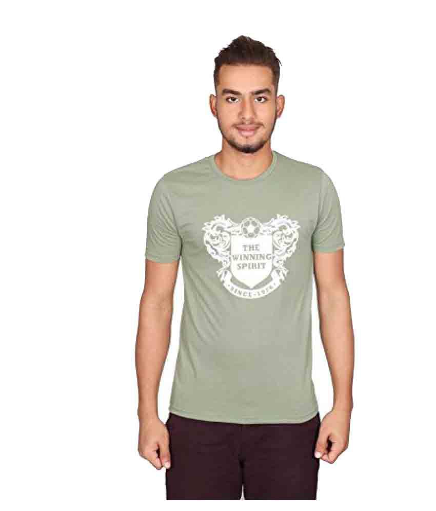 Vector x vtc-001-e half sleeves cotton round neck t-shirt