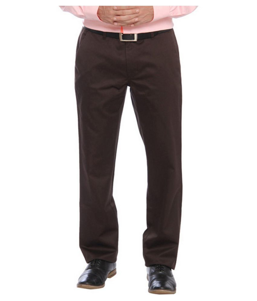 Raymond Brown Regular Flat Trouser