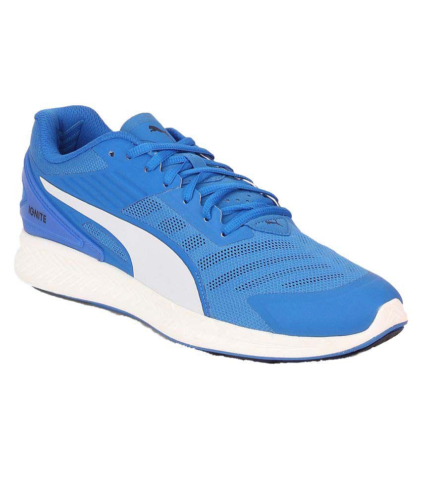 chaussures de sport 791e3 31889 Puma Puma IGNITE v2 Blue Running Shoes