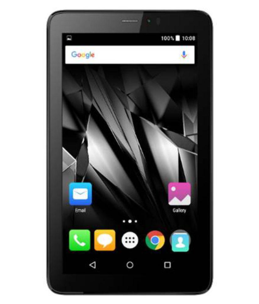 Micromax Canvas Tab P-701 Gray ( 4G + Wifi Voice...