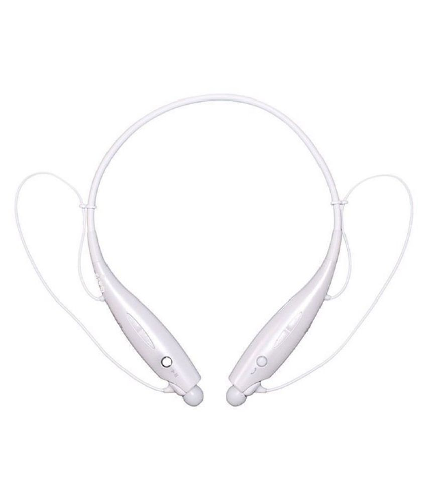 Akira Flair P8 Wireless Bluetooth Headphone White